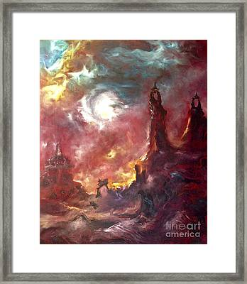 Otherworldly Framed Print by Michelle Dommer