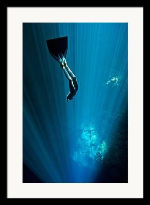 Cenote Framed Prints