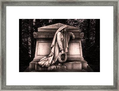 Otis Monument Framed Print by Tom Mc Nemar