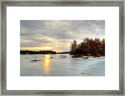 Otis Reservoir Sunrise No. 2 Framed Print