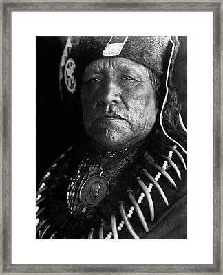 Oto Chief, 1927 Framed Print