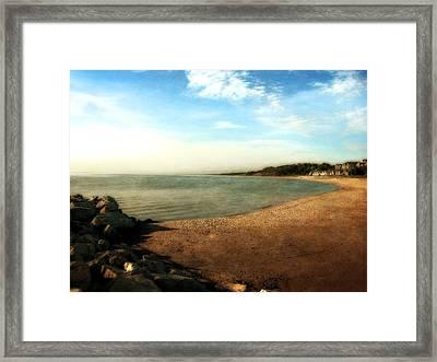 Ottawa Beach State Park Framed Print by Michelle Calkins
