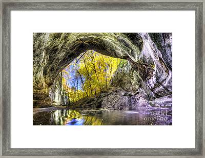 Ottawa Canyon At Starved Rock State Park Framed Print by Twenty Two North Photography