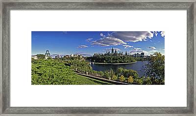 Ottawa, Ontario, Canada Framed Print