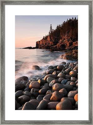 Otter Cliffs Framed Print by Patrick Downey