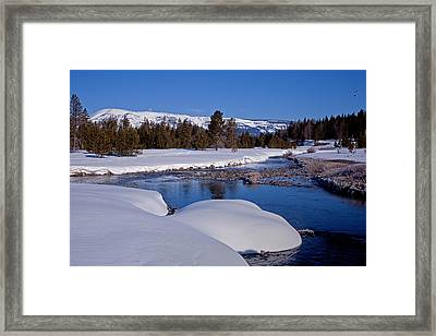 Framed Print featuring the photograph Otter Creek by Jack Bell