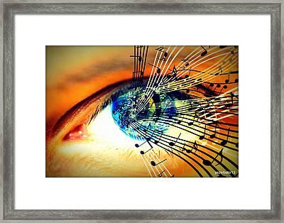 Ottico - Sonoro Framed Print by Paulo Zerbato