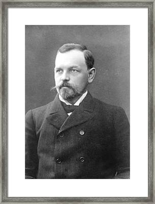 Otto Nordenskjold, Swedish Geologist Framed Print by Science Photo Library
