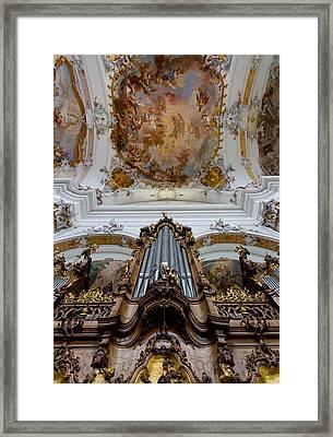 Ottobeuren Ornaments Framed Print