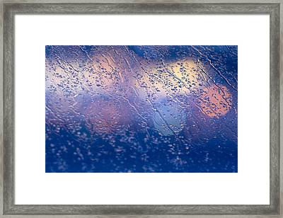 Out-of-focus Lights Framed Print by David Taylor