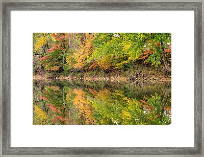 Ouachita Fall - Arkansas Framed Print by Gregory Ballos