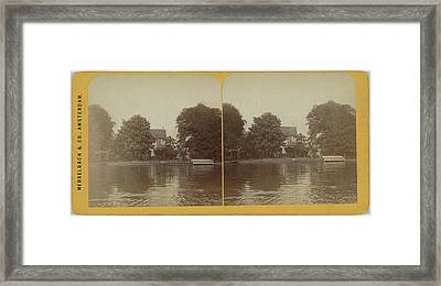 Ouderkerk A  D Amstel, The Netherlands Framed Print