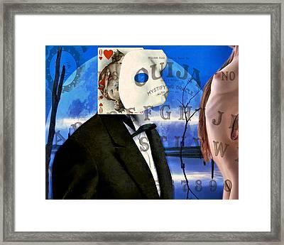 Ouija Framed Print by James Stough