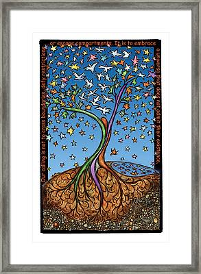 Our Calling Framed Print by Ricardo Levins Morales