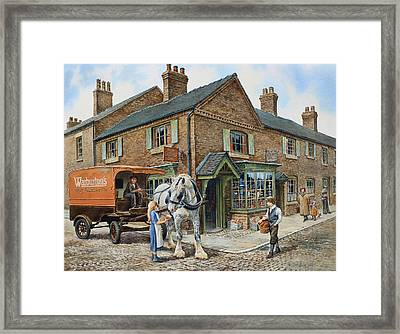 Our Daily Bread Framed Print by Anthony Forster
