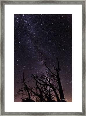 Our Galaxy Framed Print by Bill Cantey