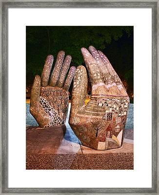 Our Hands Framed Print