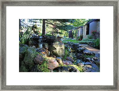 Our Home Framed Print by Hanne Lore Koehler