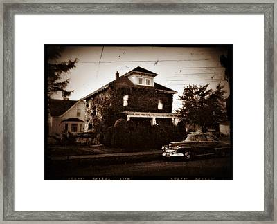 Our House - Private Password Protected Framed Print by Patricia Strand
