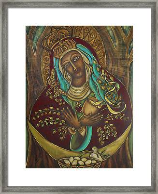Our Lady Gate Of Dawn Framed Print by Marie Howell Gallery