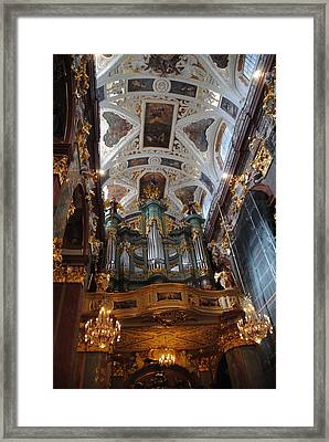 Our Lady Of Czestohowa Basilica Interior Framed Print
