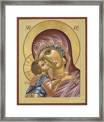 Our Lady Of Grace Vladimir 002 Framed Print
