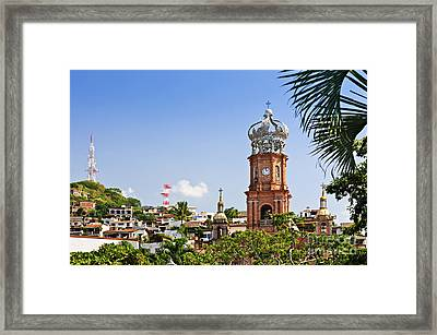 Our Lady Of Guadalupe Framed Print by Elena Elisseeva