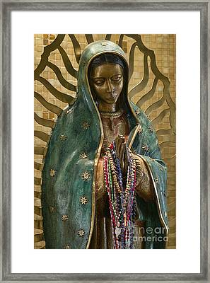 Our Lady Of Guadalupe Framed Print by John Greim