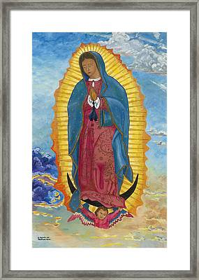 Our Lady Of Guadalupe-new Dawn Framed Print