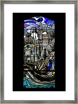 Our Lady Of Lourdes France Framed Print by Thomas Woolworth