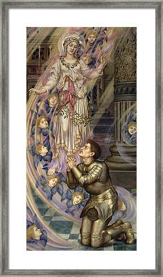 Our Lady Of Peace Framed Print by Evelyn De Morgan