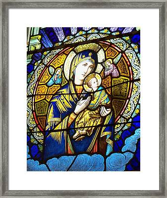 Our Lady Of Perpetual Help Framed Print by Dana Doyle