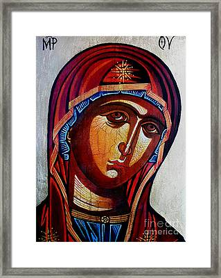 Our Lady Of Perpetual Help Framed Print by Ryszard Sleczka