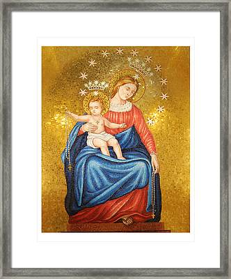Our Lady Of Pompeii Framed Print by Philip Ralley