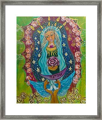 Our Lady Of Rebirth And Renewal Framed Print by Havi Mandell
