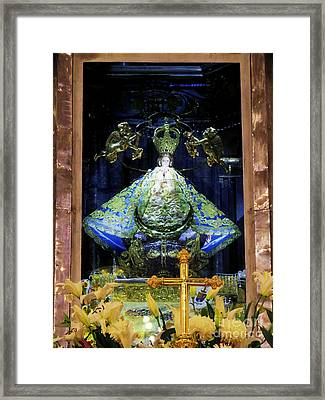 Our Lady Of San Juan De Los Lagos Framed Print