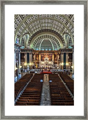 Our Lady Of Sorrows Basilica IIi Framed Print by Roger Lapinski