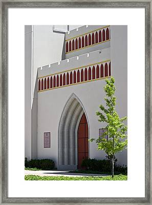 Our Lady Of The Atonement Church Framed Print by Ed Gleichman