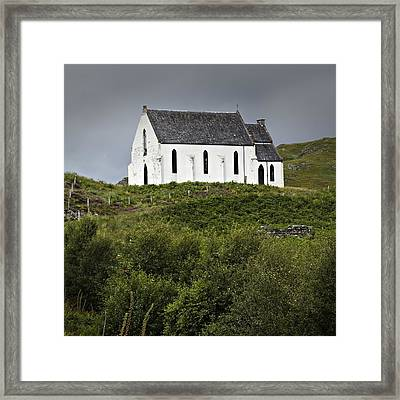 Our Lady Of The Braes Framed Print