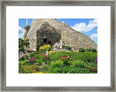 Our Lady Of The Woods Shrine Ll Framed Print