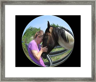 Our Love Framed Print by Rosalie Klidies