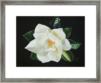 Our Magnolia Framed Print