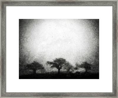 Our Moment In Patience Framed Print by Brett Pfister