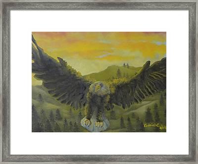 Our National Bird Framed Print