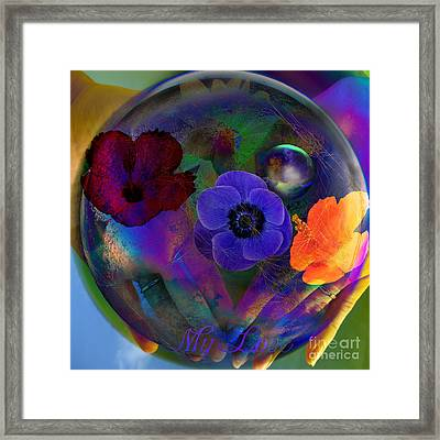 Our Nature Of Love Framed Print