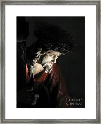 Our Saviour Framed Print by Richard Faenza