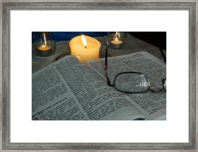 Our Shabbat Framed Print