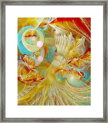Our Souls Expand Framed Print by Gayle Odsather