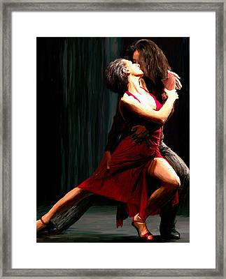Our Tango Framed Print