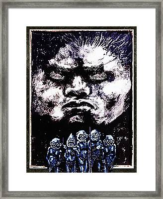 Our Tribal Thinking Framed Print